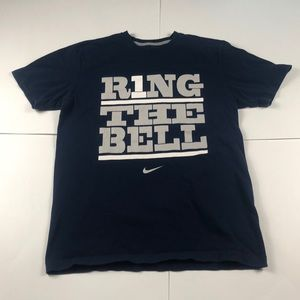 Nike Creighton Ring the Bell T-Shirt Navy NCAA